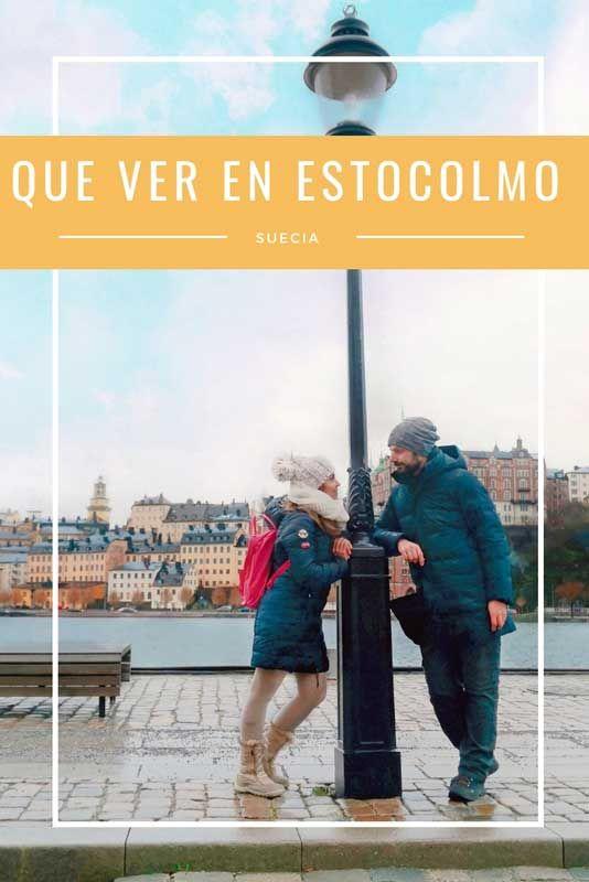 Qué Ver En Estocolmo En 3 Días Con Mapa 365 Sábados Viajando Estocolmo Estocolmo Suecia Suecia