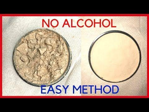 Diy How To Fix Broken Compact Powder Makeup Without Alcohol Youtube Broken Makeup Fix Broken Makeup Broken Powder