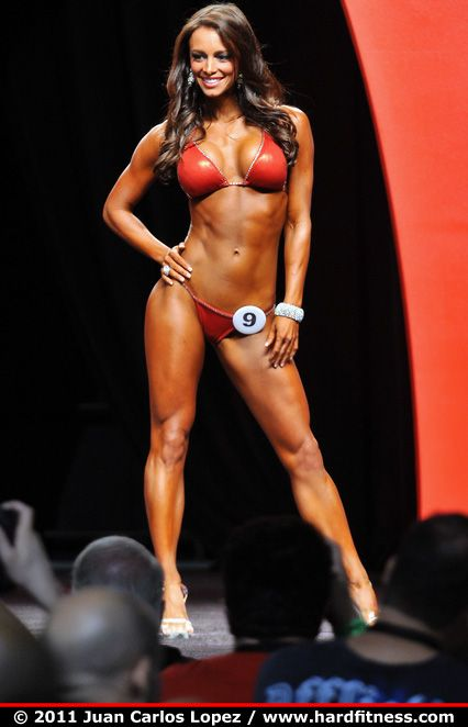 I WILL be competing in a bikini and/or figure competition! I am doing it! It signifies deliverance from certain areas of my life and always will inspire many people!!! I'm pumped!     Juliana Daniell, Bikini Competitor.