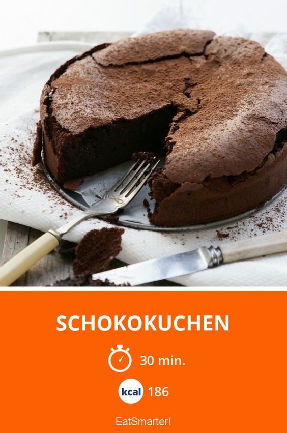 Schokokuchen - smarter - Kalorien: 186 Kcal - Zeit: 30 Min. | eatsmarter.de