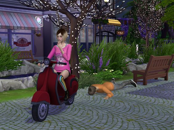 Sims 4 CC's - The Best: TS3 Scooter Conversion by EnureSims