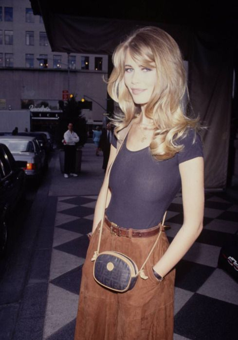 Turn that cord skirt into a pair of corduroy pants and we have a deal. Also, I love her effortless beauty.