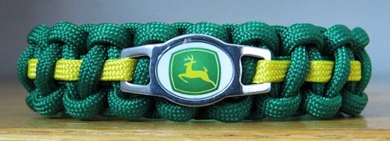 John Deere Cat Collar Paracord Collar by BigKittyDesigns on Etsy
