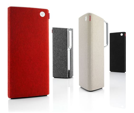 Race Car Red Libratone Live Speaker http://store.apple.com/us/product/H6599VC/A/libratone-live-airplay-speaker