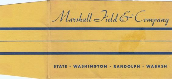 1934 MARSHALL FIELD & CO. Cover w/ Map Grant Park CHICAGO The  WORLD'S FAIR