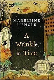 A Wrinkle in Time. I love that word...wrinkle.