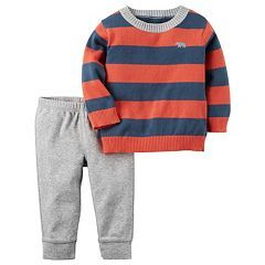 Baby Boy Carter's Striped Sweater & Pants Set