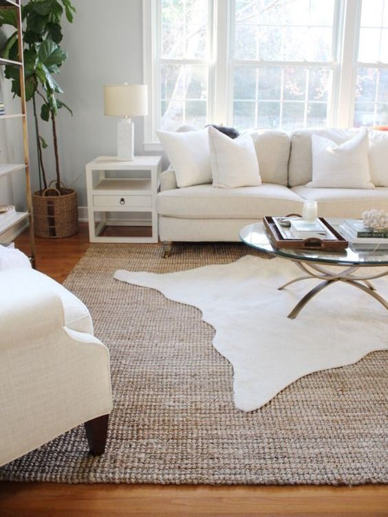 Colour Combination Ideas For Your Living Room Design Cowhide Rug Living Room Rugs In Living Room Modern Rugs Living Room