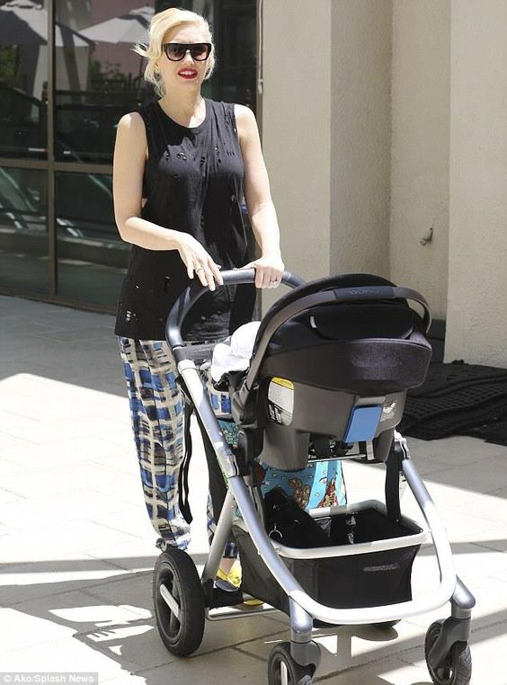 Celeb Watch Gwen Stefani Is Spotted Out And About With