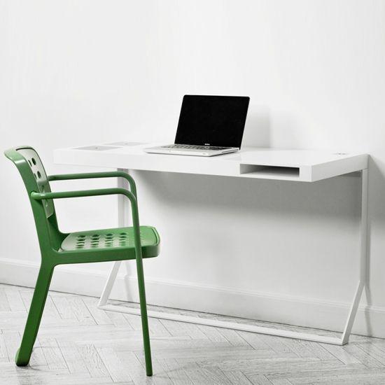 The Mini Milk desk, part of the Milk series by the Copenhagen-based Søren Rose Studio