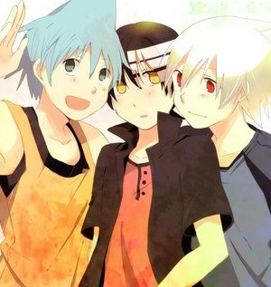 Soul x Kid x Black Star x Crona