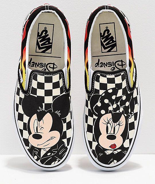 Disney by Vans Slip-On Mickey \u0026 Minnie