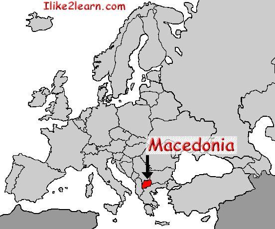 Macedonia Countries Europe Pinterest: Macedonia Map In Europe At Infoasik.co