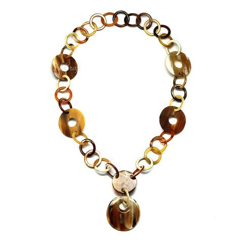 QueCraft Horn Chain Necklace - Q4237