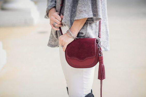 Rebecca Minkoff mini suki crossbody bag via Peaches In A Pod blog.