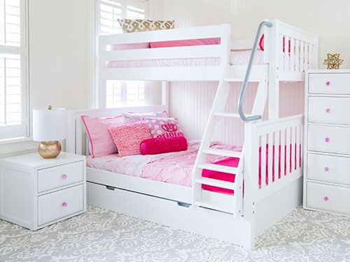 Bunk Beds For Kids Also Twin Over Futon Bunk Bed Also White Bunk