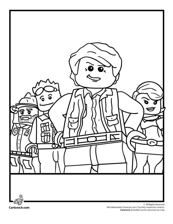 Lego coloring pages lego clutch powers coloring page cartoon jr Policeman Coloring Pages Star Wars the Clone Wars Coloring Pages LEGO Friends Coloring Pages