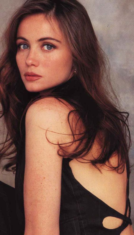 Emmanuelle Beart, French actress and star of movies such as Manon des Sources and Mission Impossible.