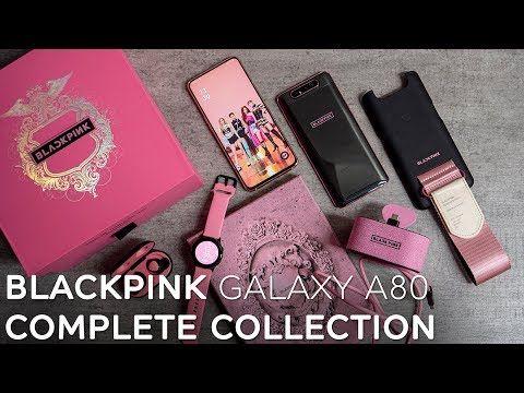 Blackpink Samsung Galaxy A80 Complete Set Unboxed Youtube Samsung Galaxy Blackpink Galaxy