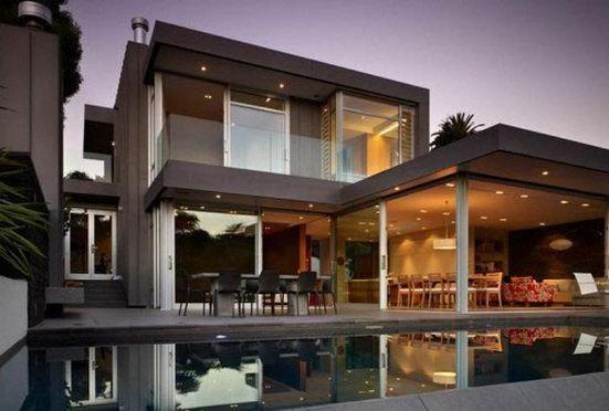 Modern Balcony Design   Modern Classic House Exterior Design With ...