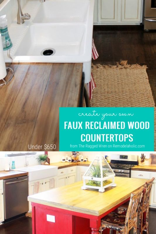 Diy Your Own Wooden Countertops With This Great Tutorial
