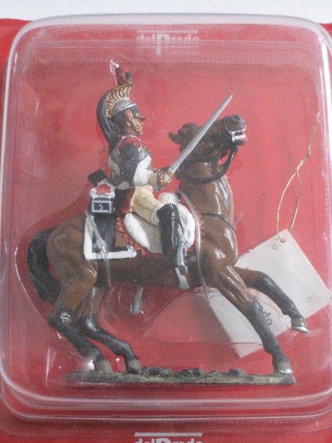cavalier cuirassé français 5ème régiment Del Prado