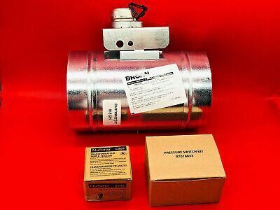 Details About Broan Md6tu 6 Universal Make Up Air Damper With Pressure Sensor Kit 99527207 In 2020 Kit Ebay Makeup