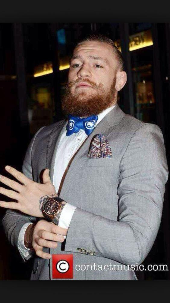 conor mcgregor suit bow tie men 39 s fashion pinterest. Black Bedroom Furniture Sets. Home Design Ideas