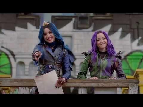 Descendientes 3 Pelicula Completa Youtube Disney Decendants Disney Channel Descendants Disney Descendants