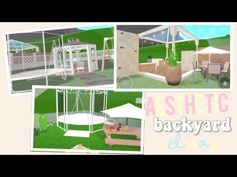 Three Aesthetic Backyard Ideas Youtube Unique House Design House Plans With Pictures House Decorating Ideas Apartments