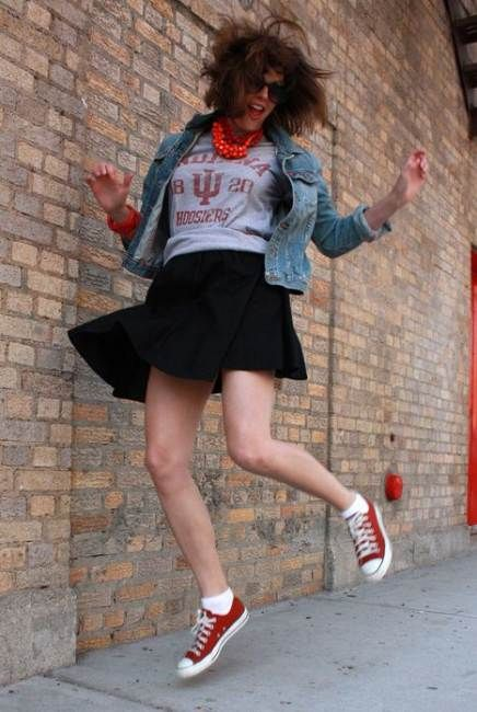 Trendy How To Wear Red Converse Outfits