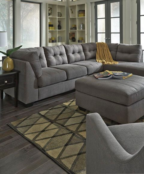 Sensational Ashley Furniture Grey Sectional 4520066 17 In 2019 Caraccident5 Cool Chair Designs And Ideas Caraccident5Info