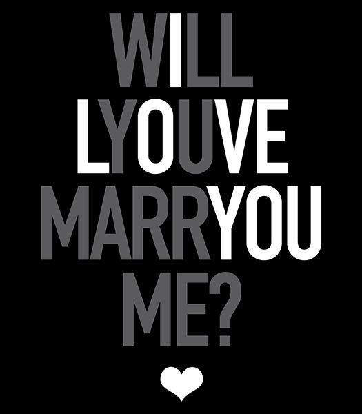 Marry Me Customized Wedding Wine Label