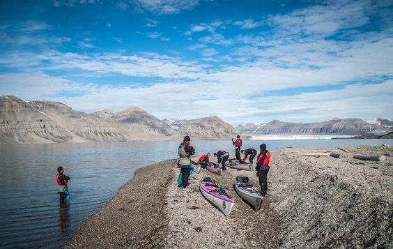 Svalbard (7/10) - Tempelfjord & son Océan Glacial (Arctique) | La Faute Au Graph.