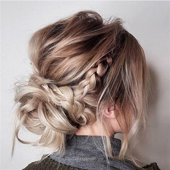 Insane Look Over This Messy updo hairstyles,Crown braid hairstyle to try ,boho hairstyle,easy hairstyle,updo,prom hairstyles,side braided with updo hairstyle ideas  #MessyHairstylesUpdo   #BeautifulWeddingHairStyles   The post  Messy updo hairstyles,Crown braid hairstyle to ..