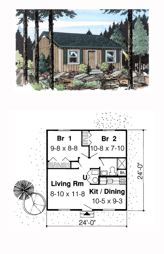 House Plans Cabin And House On Pinterest