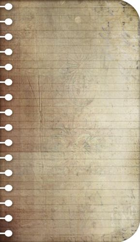 Vintage Notebook Paper