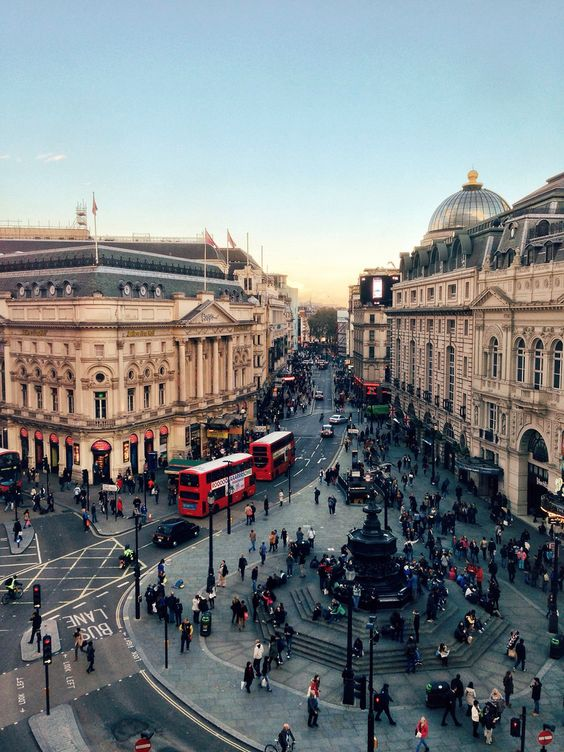 Piccadilly Circus, London (by mikerolls):