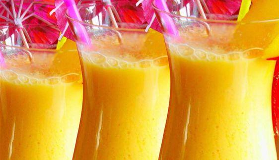 Surinaams eten – Tropigeade (fruitige yoghurtdrank met amandel)