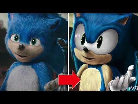Sonic The Hedgehog Movie Design Fixed Speed Paint Youtube Hedgehog Movie Sonic The Hedgehog Speed Paint