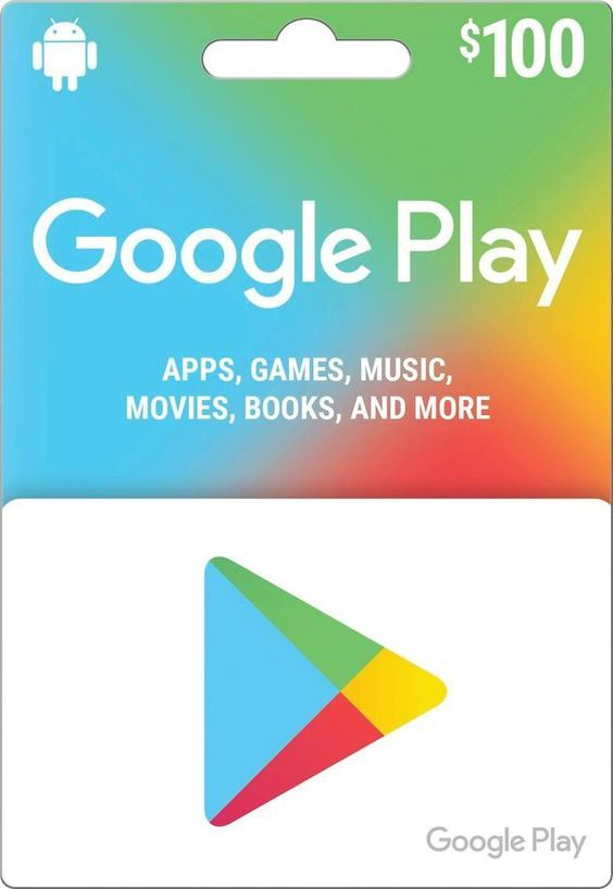 Pin On Google Play Card Online