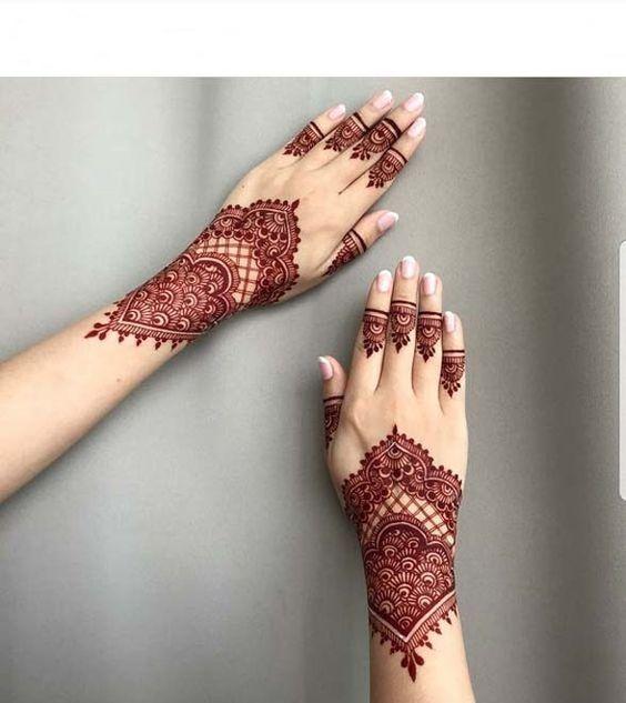 Gambar Henna Sederhana