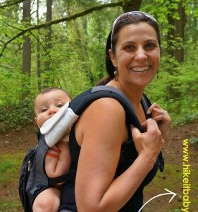 Ever seem a lone mama out with a baby on her back and wonder how she loaded up by herself? This article has a video on how to get your baby on your back!