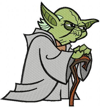 Star Wars Machine Embroidery Applique   Yoda Think Machine Embroidery Design   Dee Dee Favorite ...