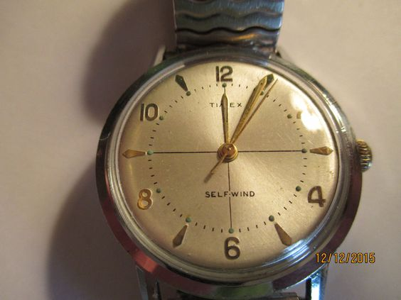 VINTAGE MEN'S TIMEX AUTOMATIC CASUAL WATCH,WR,SS BACK,BASE BEZEL #Timex #Casual