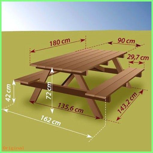 Decor Construire Une Table De Pique Nique Ooreka Stol Dlya Piknika Plany Stola Dlya Piknika Mebel Dlya Dvora