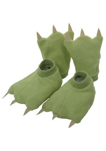 Kids Dinosaur Hands and Feet - Make with felt