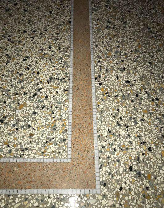 Pavimento Alla Palladiana.Pavimento Alla Genovese O Terrazzo Alla Veneziana