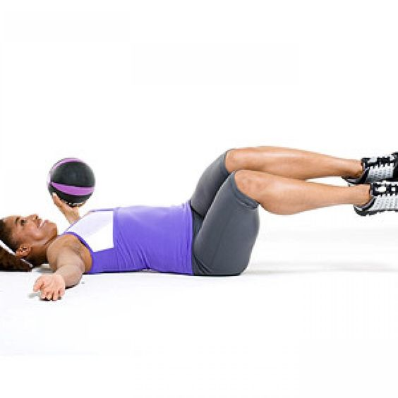 Stability Ball Upper Body Workout: Upper-Body Boot Camp: Toned Arms In 10 Minutes