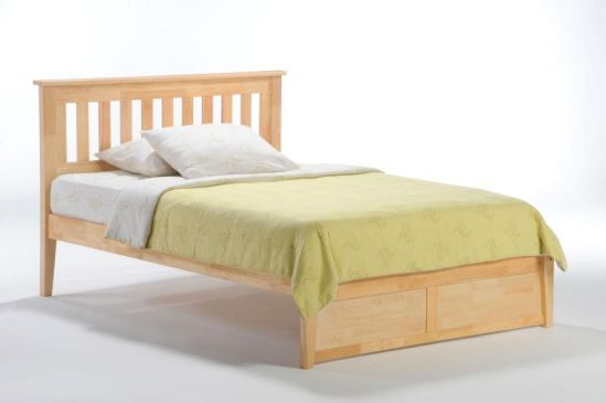 Pacific Mfg Spices K Series Rosemary Bed Complete Hardwood Bed